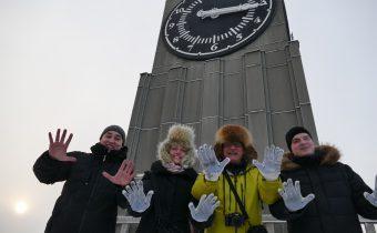 Krasnojarsk mesto kde sa aklimatizujeme