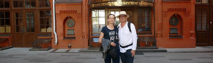 PREZENTÁCIA V RUSKEJ GEOGRAFICKEJ SPOLOČNOSTI