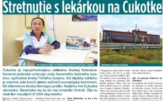 Stretnutie s lekárkou na Čukotke