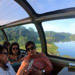 Vagón s menom Rio Chagres poskytuje vynikajúci výhľad na nádhernú prírodu v okoli Panamského prieplavu.