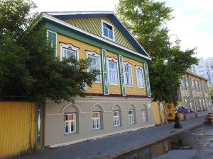Kazan. Tatarske domy